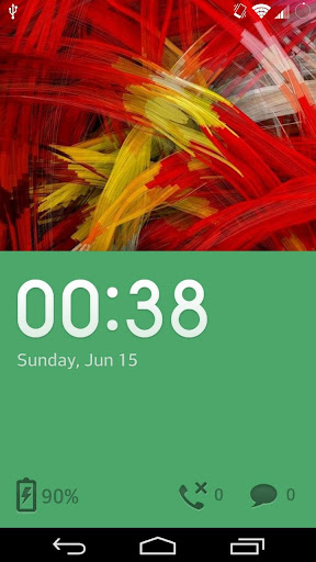 One plus green theme Go Locker