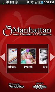 Manhattan KS Chamber - screenshot thumbnail