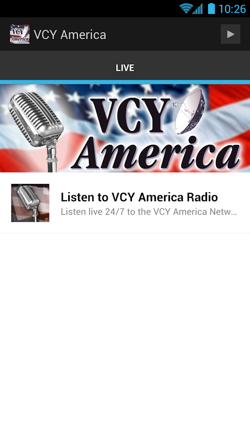 VCY On The Go - screenshot