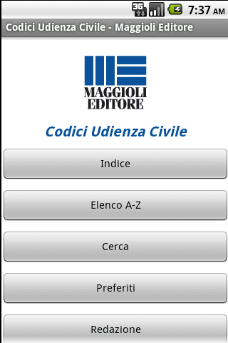 Codici Udienza Civile - screenshot