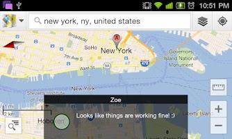 Screenshot of SMS Flash