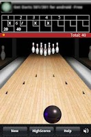 Screenshot of Finger Bowling