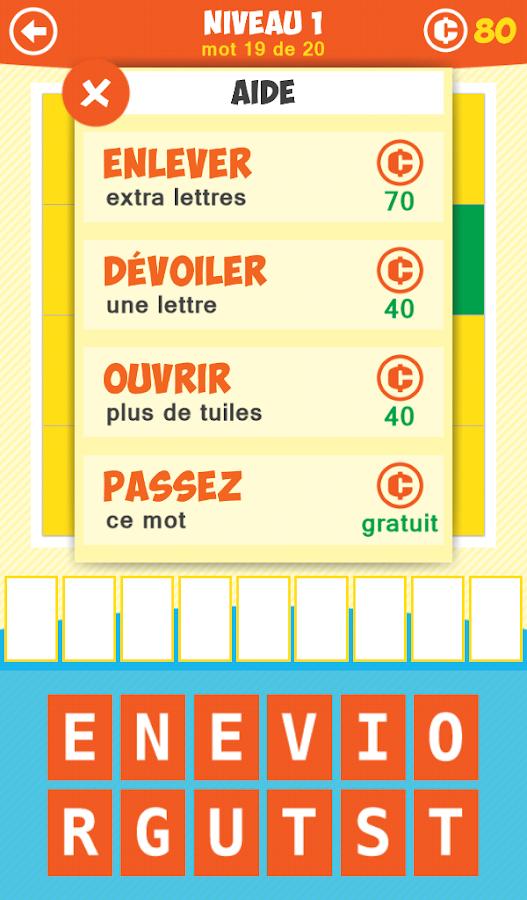 1 Image 1 Mot: Jeu d'Ombres - screenshot