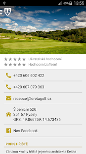 Loreta Golf Club Pyšely- screenshot thumbnail