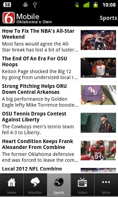 News On 6 Oklahoma's Own - screenshot