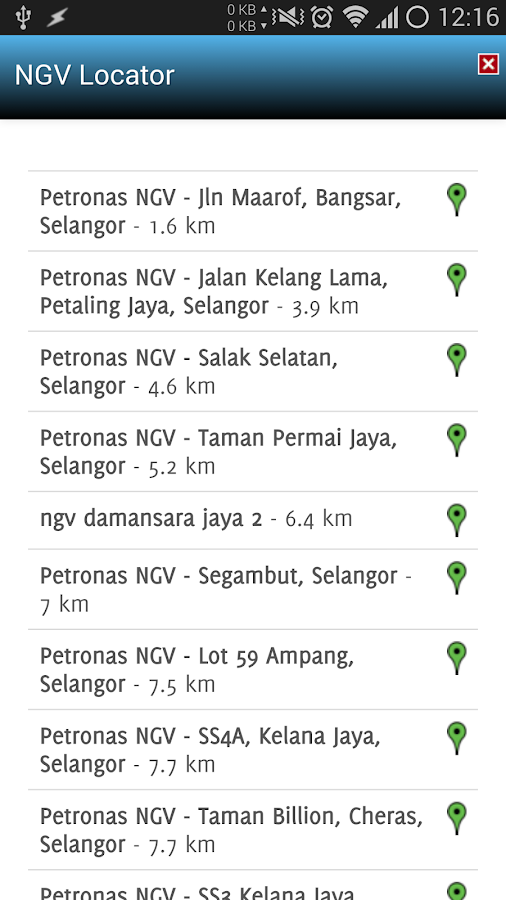 NGV Locator- screenshot