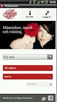 Screenshot of Friskis&Svettis