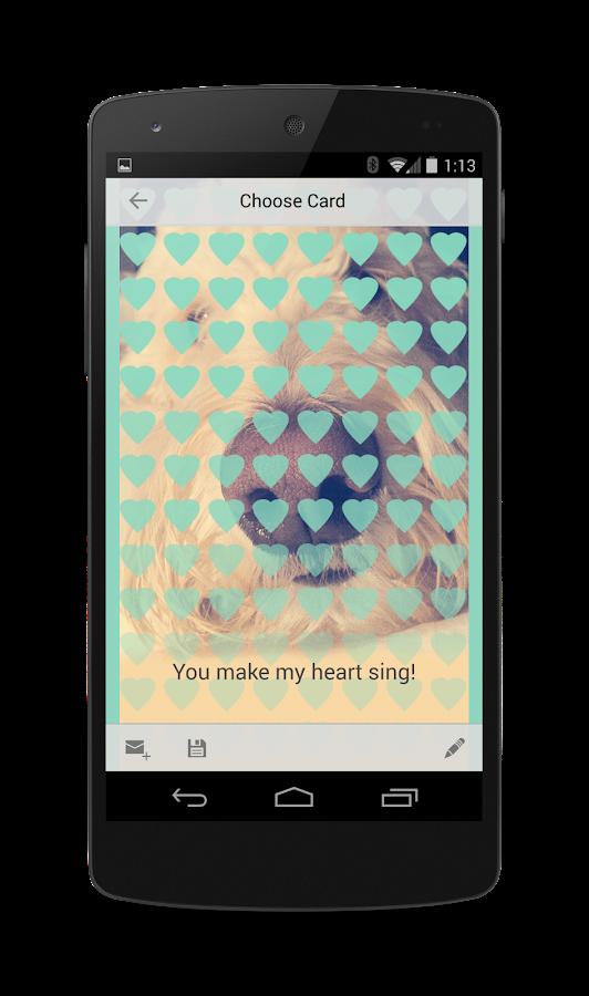 Doodlelove: Designer Ecards - screenshot