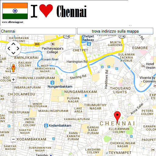 Chennai Airport Map, Airport Map of Chennai