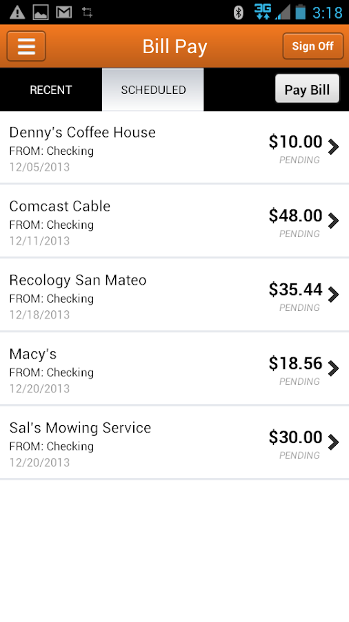 Provident CU Mobile Banking - screenshot
