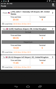 Airline Flight Status Tracker - screenshot thumbnail