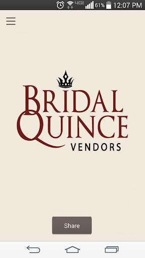 Bridal Quince Vendors