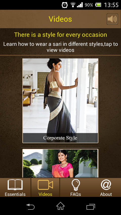 Learn Sari- screenshot
