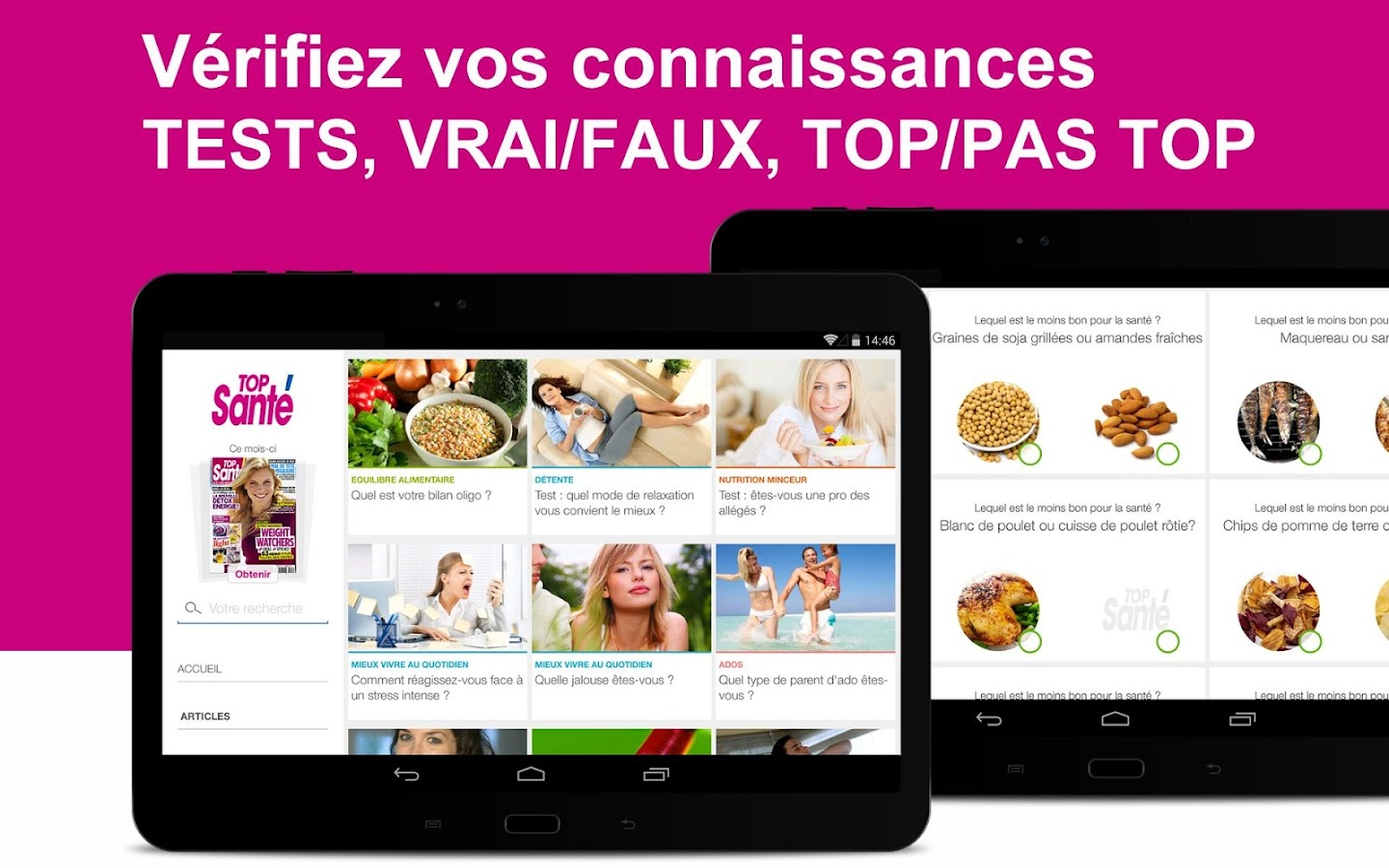 Top Santé - screenshot