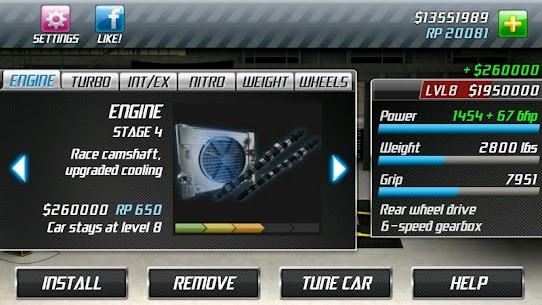 Drag Racing 1.7.61 MOD (Unlimited Money/Unlocked) 5