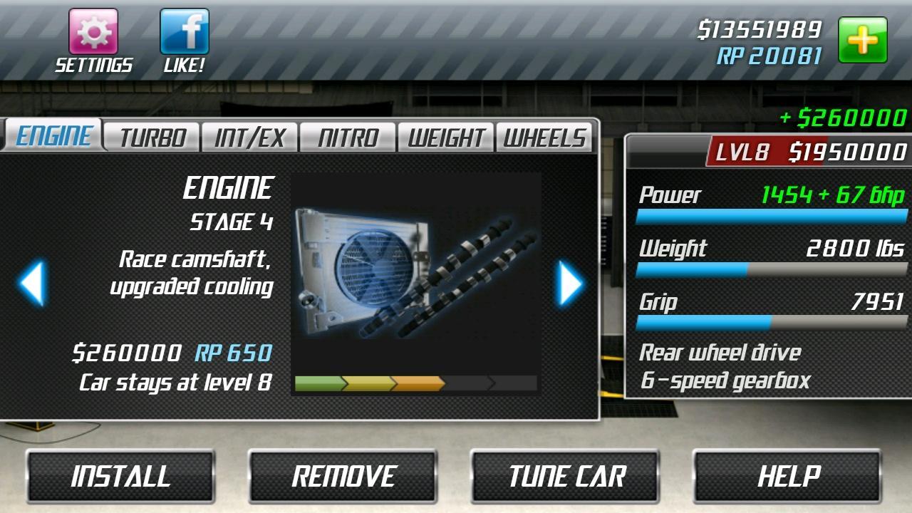 Drag Racing screenshot #6