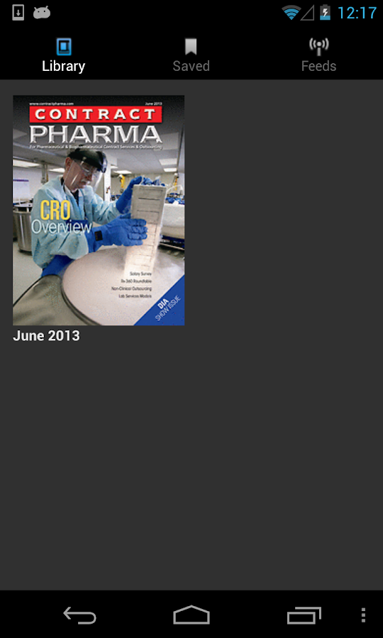 Contract Pharma - screenshot