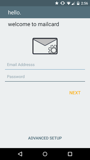 Email App for Exchange