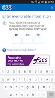 Screenshot of TSB Mobile Banking
