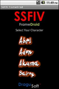 SSFIV FrameDroid - screenshot thumbnail