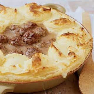 Meatball Shepherd's Pie.