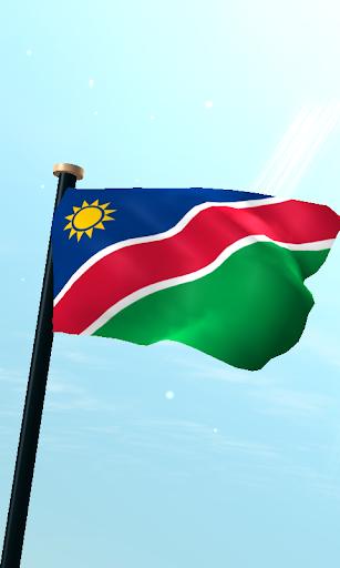 納米比亞旗3D免費動態桌布
