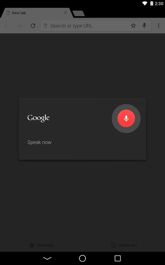 Chromeブラウザ-Google- screenshot