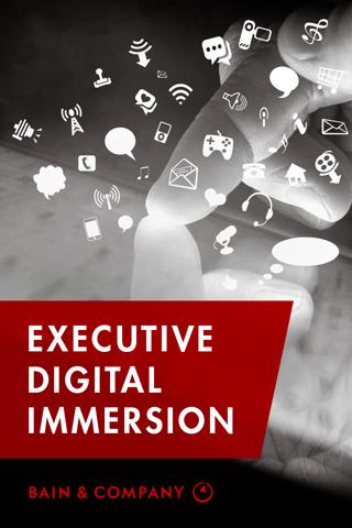 Bain Exec. Digital Immersion