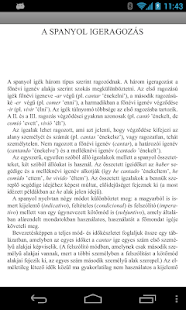 Hungarian Language Dictionary - screenshot thumbnail