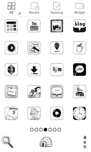 【免費個人化App】Simple penguin dodol theme-APP點子