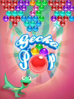Screenshot of Gecko Pop - Bubble Shooter