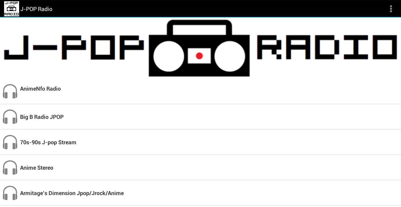 J-POP Radio - screenshot