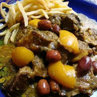 Moroccan Lamb or Beef with Olives and Preserved Lemon
