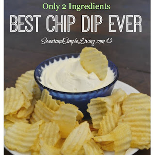The Best Chip Dip Ever!!! Recipe