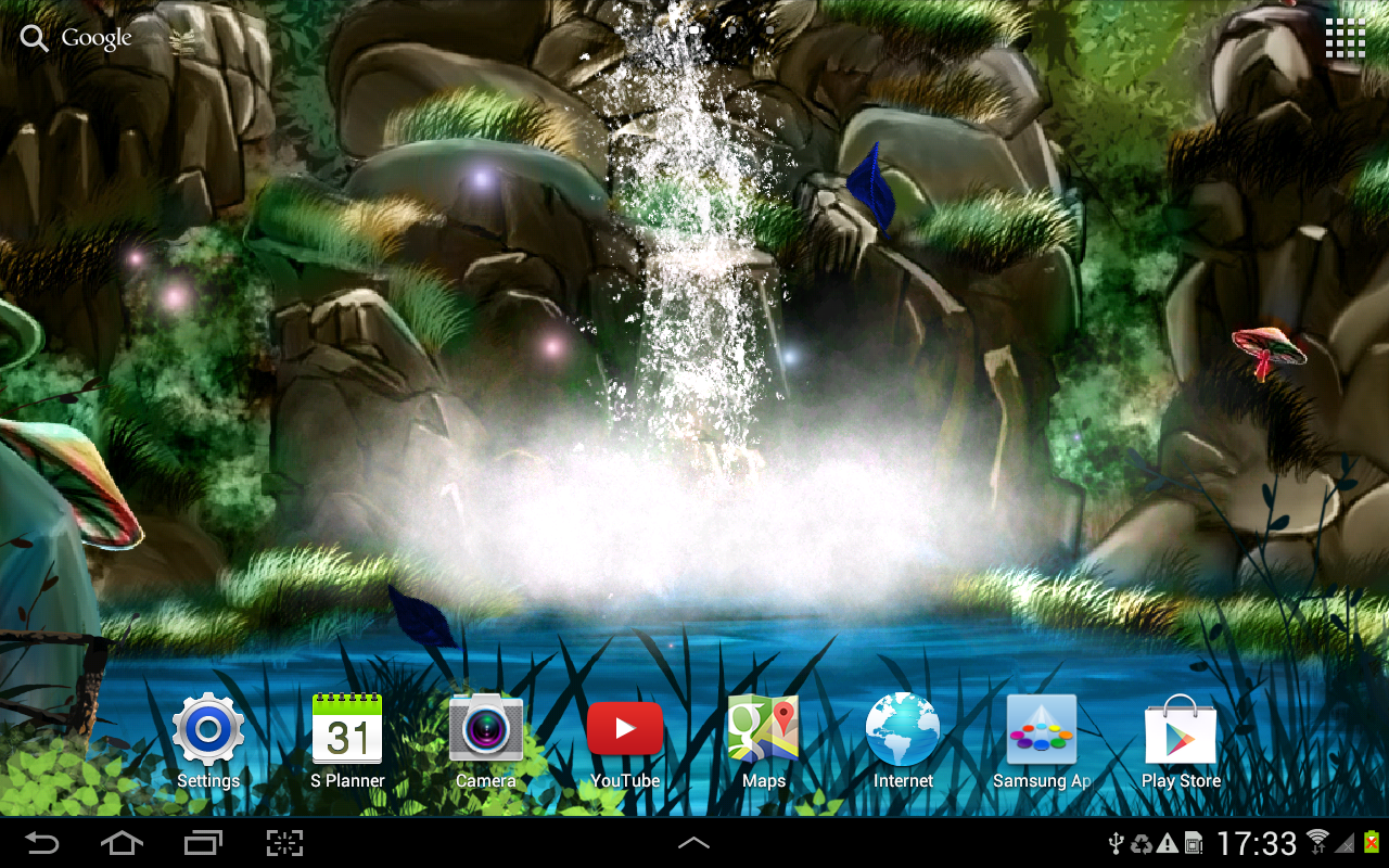 water touch sound wallpaper