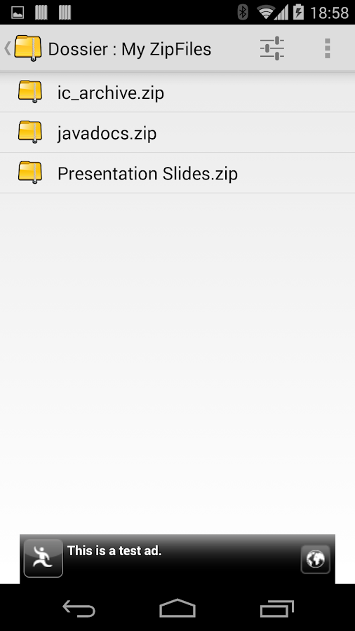 Zip Viewer - screenshot