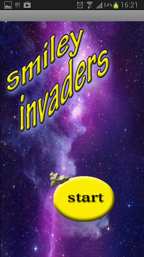 Smiley space invaders