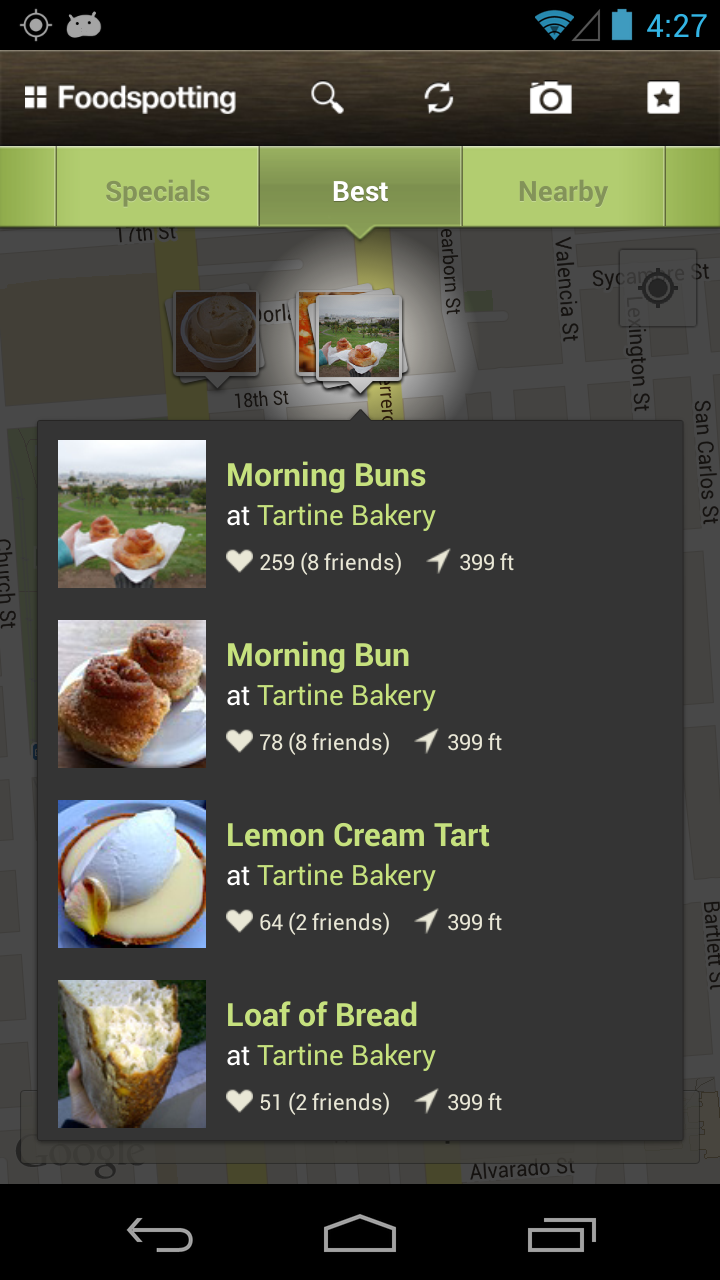 Foodspotting screenshot #3
