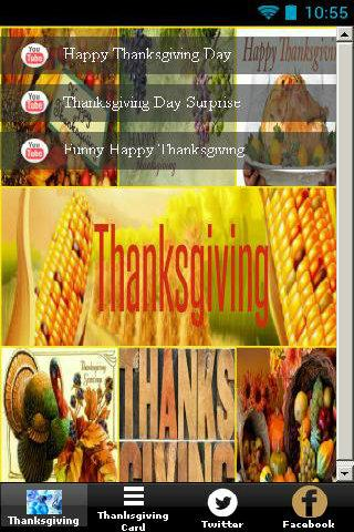 Thanks Giving - Card