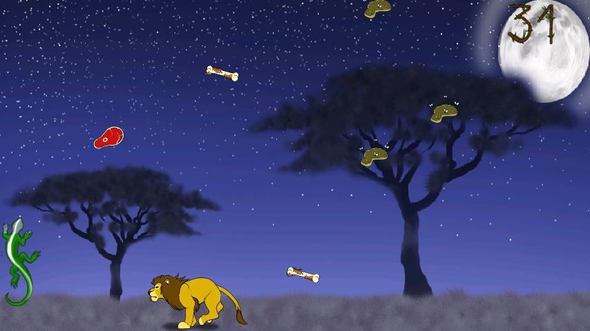 Lion, the king of wild savanna - screenshot