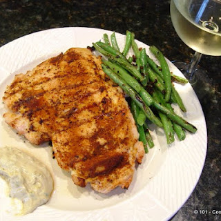 Southwest Chicken Breast with Cumin Mayo