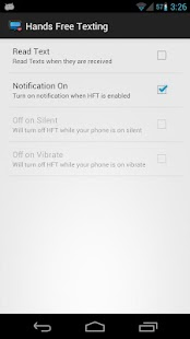 HFT (Hands Free Texting) - screenshot thumbnail