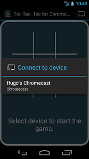 TicTacToe for Chromecast - screenshot thumbnail