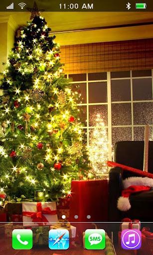Santa Gifts live wallpaper