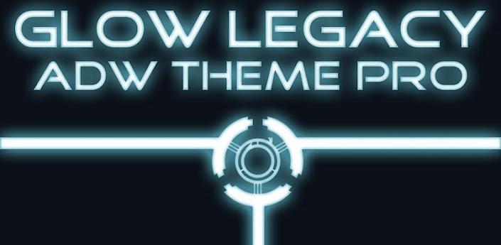 ADW Theme Glow Legacy Pro apk