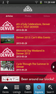 Official Visitor App to Denver - screenshot thumbnail