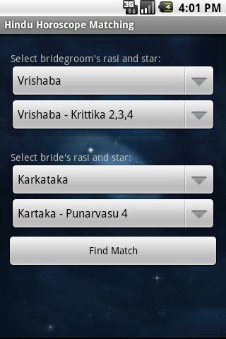 Astro Hindu Matching- screenshot