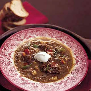 Hungarian Goulash Soup.