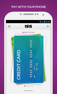 Isis Mobile Wallet - screenshot thumbnail