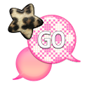 GO SMS - Leopard Star Sky 6 icon